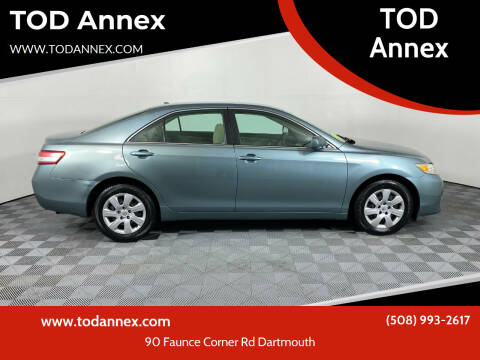 2011 Toyota Camry for sale at TOD Annex in North Dartmouth MA