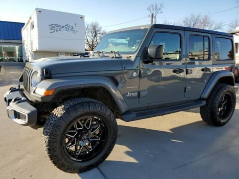 2019 Jeep Wrangler Unlimited for sale at Kell Auto Sales, Inc - Grace Street in Wichita Falls TX