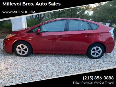 2014 Toyota Prius for sale at Millevoi Bros. Auto Sales in Philadelphia PA