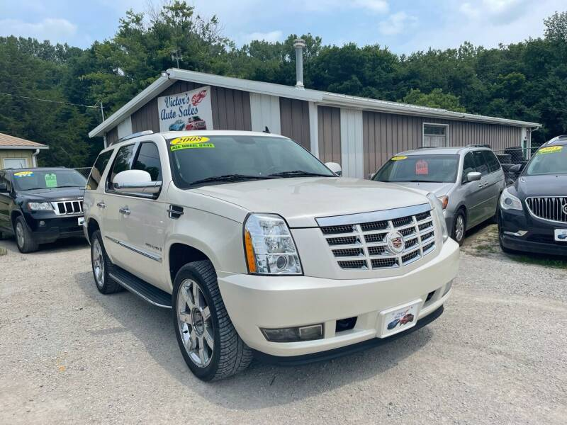 2008 Cadillac Escalade for sale at Victor's Auto Sales Inc. in Indianola IA