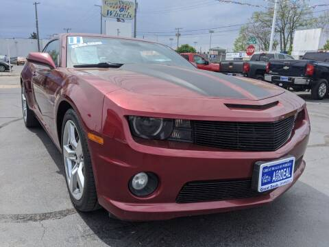 2011 Chevrolet Camaro for sale at GREAT DEALS ON WHEELS in Michigan City IN