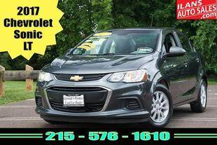 2017 Chevrolet Sonic for sale at Ilan's Auto Sales in Glenside PA