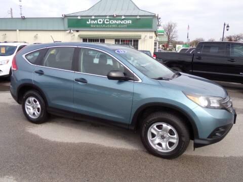 2013 Honda CR-V for sale at Jim O'Connor Select Auto in Oconomowoc WI