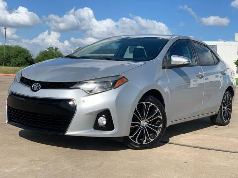 2014 Toyota Corolla for sale at AUTO DIRECT Bellaire in Houston TX