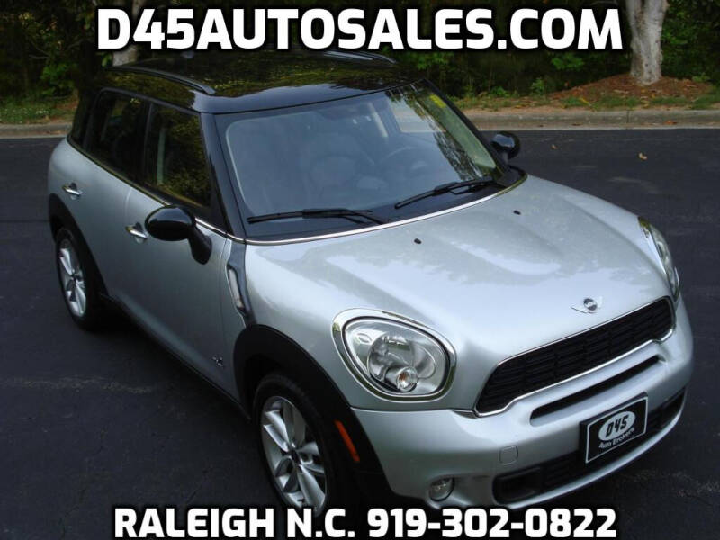 2014 MINI Countryman for sale at D45 Auto Brokers in Raleigh NC