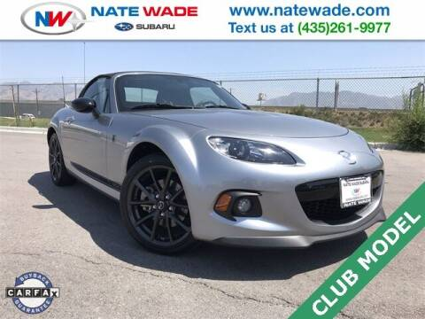 2015 Mazda MX-5 Miata for sale at NATE WADE SUBARU in Salt Lake City UT