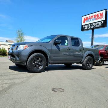 2013 Nissan Frontier for sale at Hayden Cars in Coeur D Alene ID