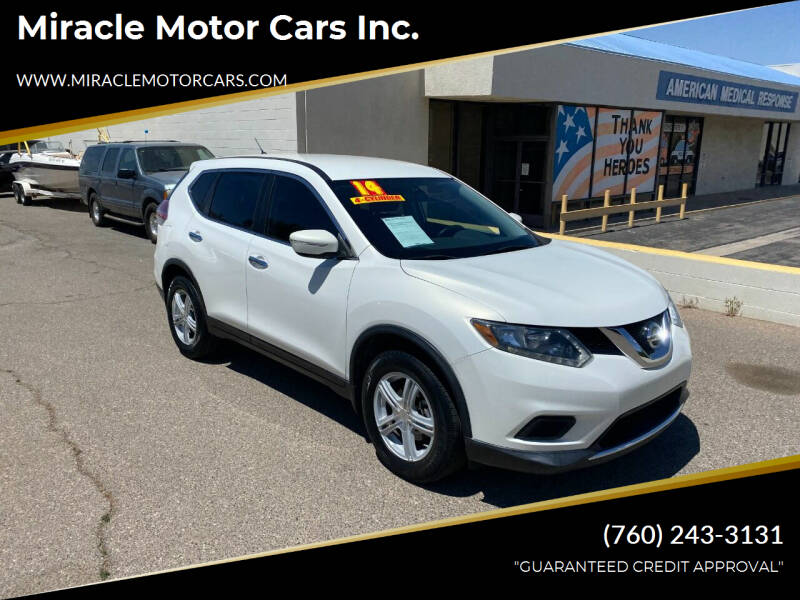 2014 Nissan Rogue for sale at Miracle Motor Cars Inc. in Victorville CA