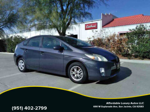 2010 Toyota Prius for sale at Affordable Luxury Autos LLC in San Jacinto CA