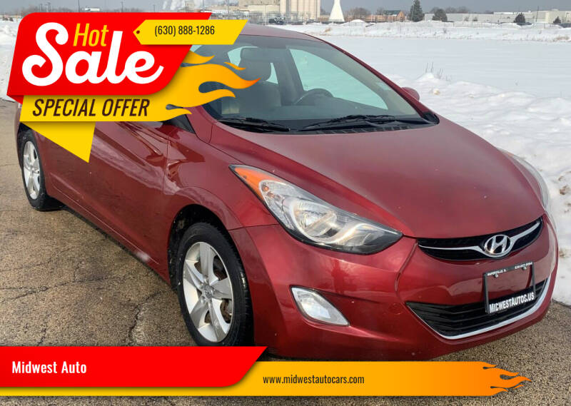 2013 Hyundai Elantra for sale at Midwest Auto in Naperville IL