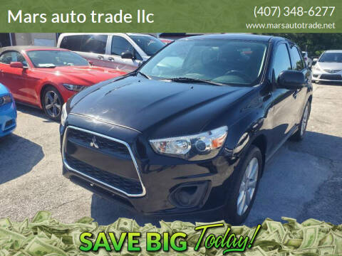 2014 Mitsubishi Outlander Sport for sale at Mars auto trade llc in Kissimmee FL