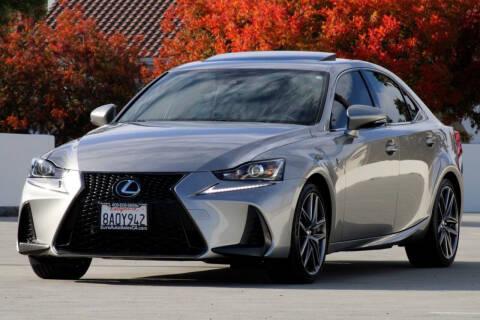2017 Lexus IS 350 for sale at Euro Auto Sales in Santa Clara CA