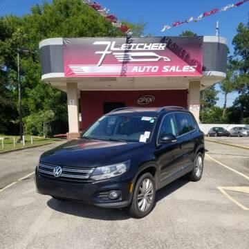 2012 Volkswagen Tiguan for sale at Fletcher Auto Sales in Augusta GA
