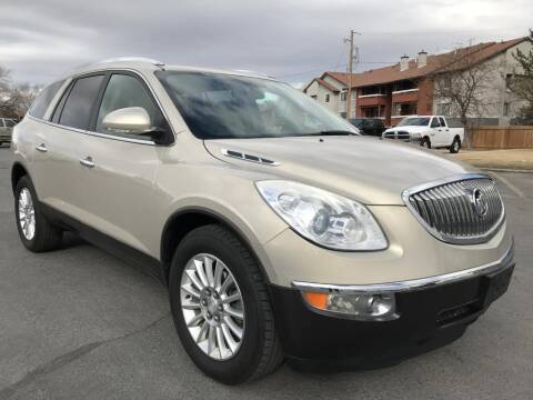 2012 Buick Enclave for sale at INVICTUS MOTOR COMPANY in West Valley City UT