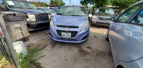 2014 Chevrolet Spark for sale at C.J. AUTO SALES llc. in San Antonio TX