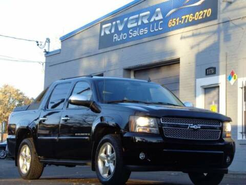 2008 Chevrolet Avalanche for sale at Rivera Auto Sales LLC in Saint Paul MN