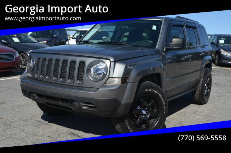 2014 Jeep Patriot for sale at Georgia Import Auto in Alpharetta GA