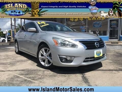 2014 Nissan Altima for sale at Island Motor Sales Inc. in Merritt Island FL