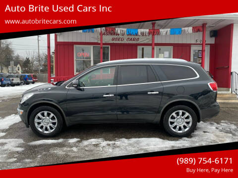 2011 Buick Enclave for sale at Auto Brite Used Cars Inc in Saginaw MI