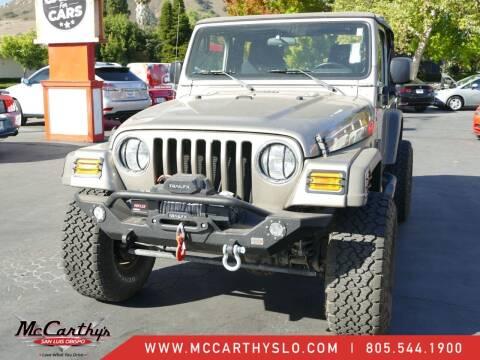 2006 Jeep Wrangler for sale at McCarthy Wholesale in San Luis Obispo CA