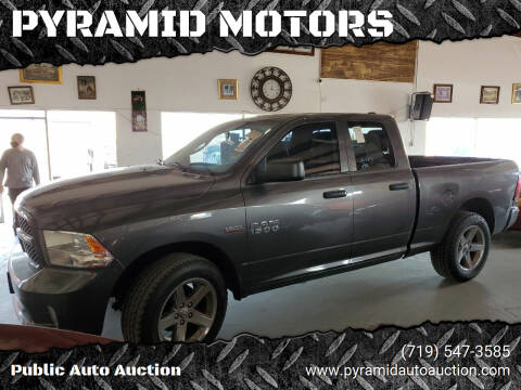 2014 RAM Ram Pickup 1500 for sale at PYRAMID MOTORS - Pueblo Lot in Pueblo CO