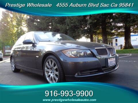 2006 BMW 3 Series for sale at Prestige Wholesale in Sacramento CA