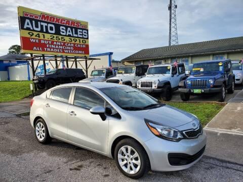 2012 Kia Rio for sale at Mox Motors in Port Charlotte FL
