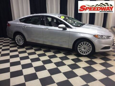 2014 Ford Fusion Hybrid for sale at SPEEDWAY AUTO MALL INC in Machesney Park IL