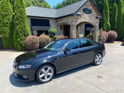 2012 Audi A4 for sale at Hoyle Auto Sales in Taylorsville NC