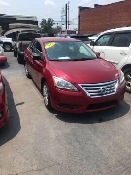 2013 Nissan Sentra for sale at Blue Bird Motors in Crossville TN