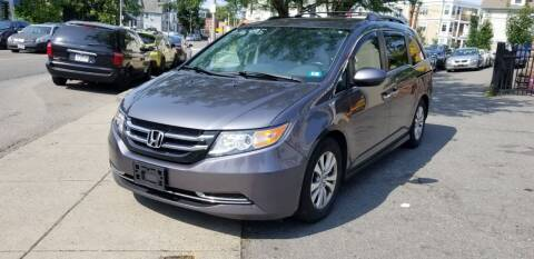 2014 Honda Odyssey for sale at Motor City in Boston MA