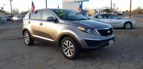 2015 Kia Sportage for sale at Autosales Kingdom in Lancaster CA