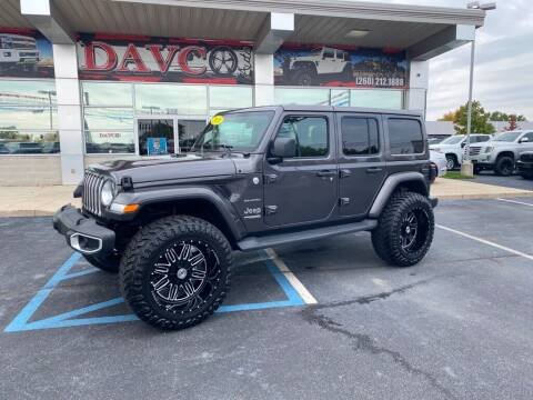 2020 Jeep Wrangler Unlimited for sale at Davco Auto in Fort Wayne IN