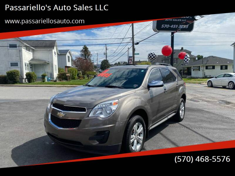 2010 Chevrolet Equinox for sale at Passariello's Auto Sales LLC in Old Forge PA