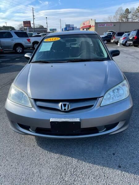 2005 Honda Civic for sale at SRI Auto Brokers Inc. in Rome GA