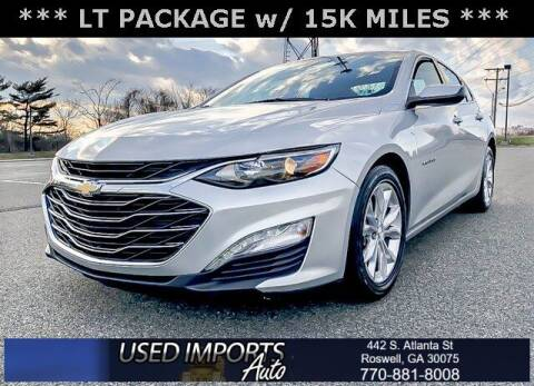 2020 Chevrolet Malibu for sale at Used Imports Auto in Roswell GA