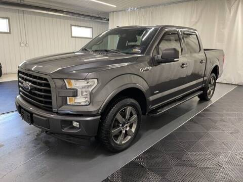 2017 Ford F-150 for sale at Monster Motors in Michigan Center MI