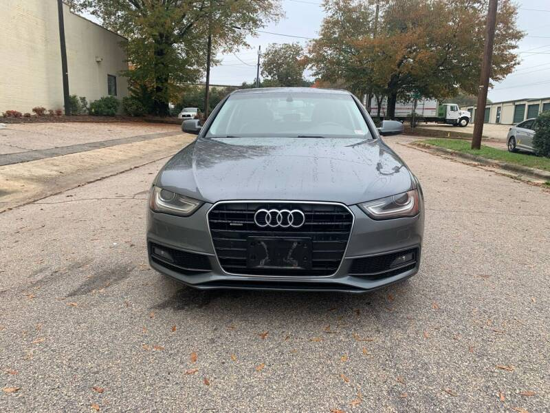 2014 Audi A4 for sale at Horizon Auto Sales in Raleigh NC