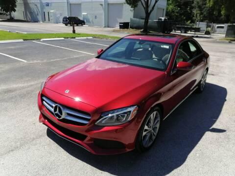 2018 Mercedes-Benz C-Class for sale at Best Price Car Dealer in Hallandale Beach FL