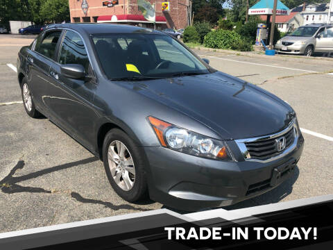 2010 Honda Accord for sale at L A Used Cars in Abington MA