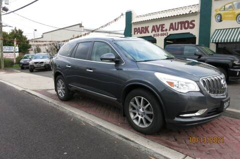 2014 Buick Enclave for sale at PARK AVENUE AUTOS in Collingswood NJ