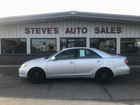 2003 Toyota Camry for sale at STEVE'S AUTO SALES INC in Scottsbluff NE