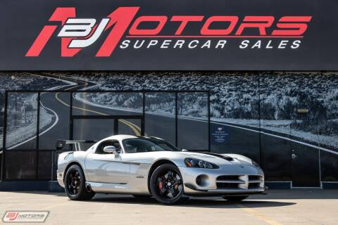 2009 Dodge Viper for sale at BJ Motors in Tomball TX