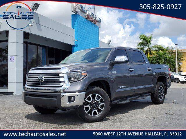 2020 Toyota Tundra for sale at Tech Auto Sales in Hialeah FL
