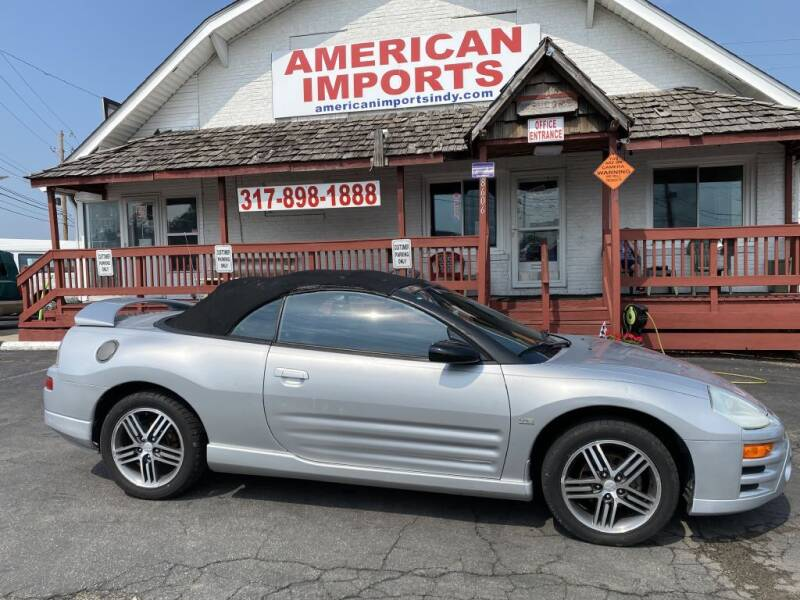2003 Mitsubishi Eclipse Spyder for sale at American Imports INC in Indianapolis IN