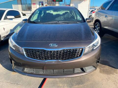 2017 Kia Forte for sale at BEST AUTO SALES in Russellville AR