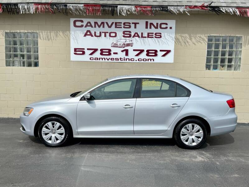 2012 Volkswagen Jetta for sale at Camvest Inc. Auto Sales in Depew NY