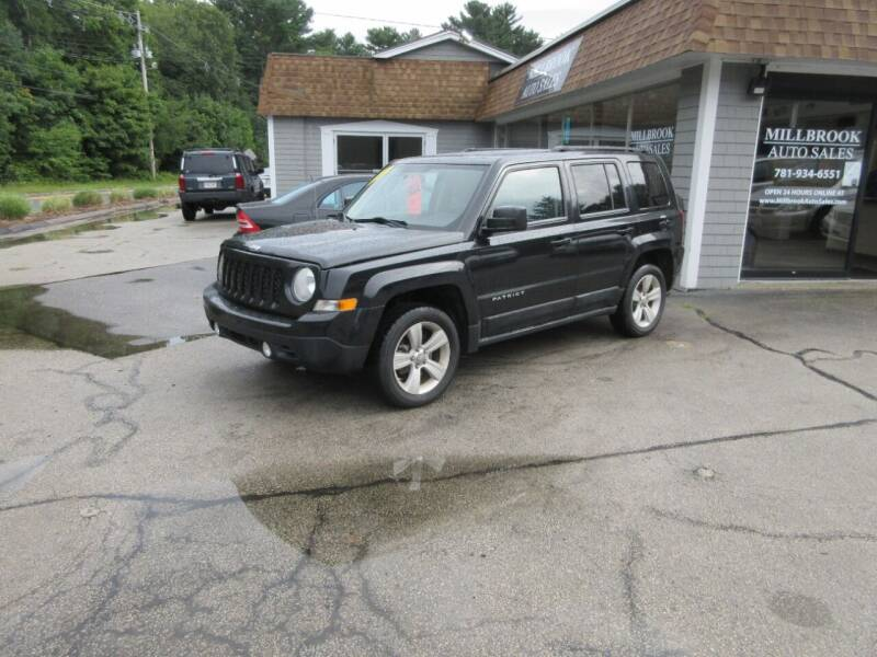 2011 Jeep Patriot for sale at Millbrook Auto Sales in Duxbury MA