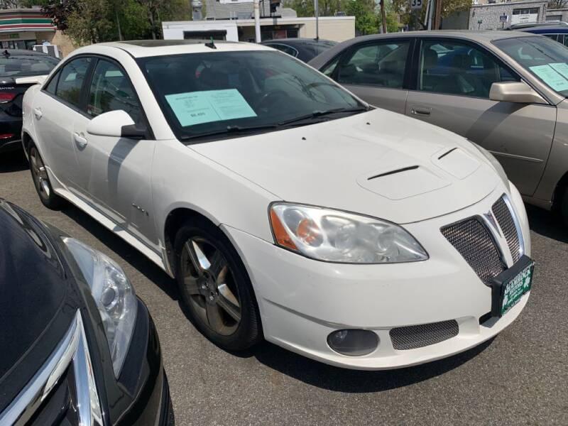 2008 Pontiac G6 for sale at Park Avenue Auto Lot Inc in Linden NJ