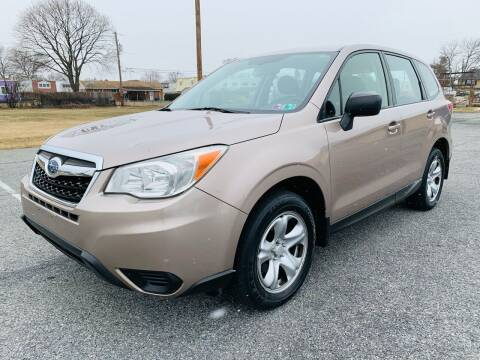 2014 Subaru Forester for sale at Capri Auto Works in Allentown PA